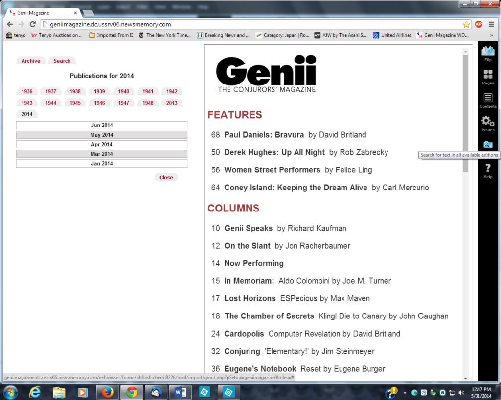 Genii Speaks 6