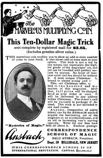 Advertisement from Scribner's Magazine (1905)